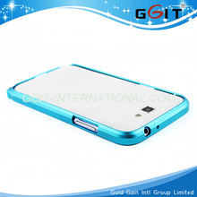 Stylish Aluminum Metal Frame Hard case for Samsung Note2 n7100 case