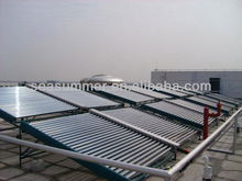 Non-pressurized split stainless steel SUS304 solar collector Solar swimming pool SC-V Non-pressure solar collector