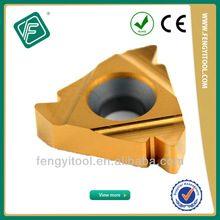ISO METRIC Indexable Turning Thread Inserts 16NR2.0ISO