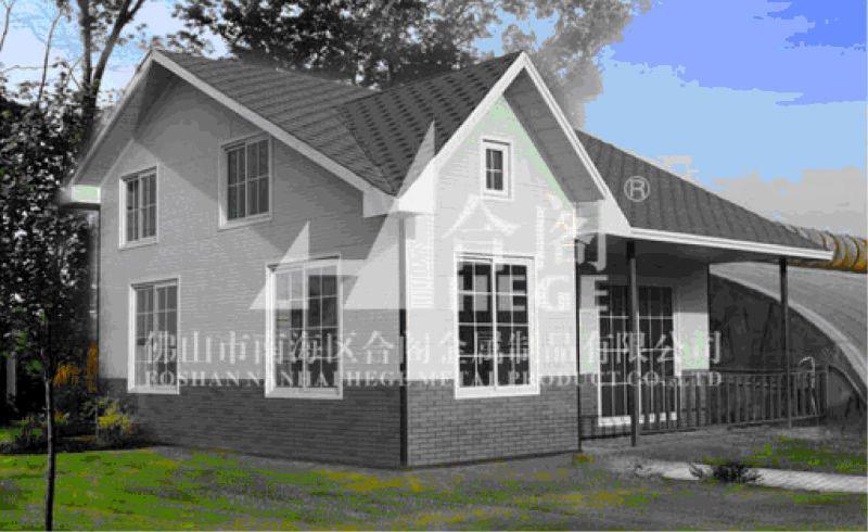 Fast Construction Prefab 150m2 House Poultry Farm House