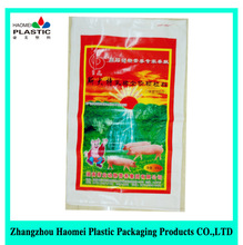 Laminated PP Plastic Woven Bags 50kg Making Factory