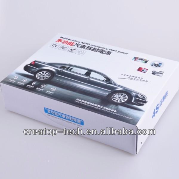 2013 New Arrival Powerful Mini CarJjump Starter Car Emergency Kit