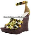 mulheres moda da sandália meninas plataforma alta moda sandália salto 2014