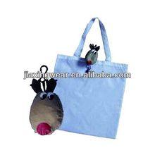 2014 Fashion monkey foldable bag for shopping and promotiom