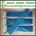 de bambú teñido palo de flores para la decoración