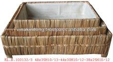 Water-hyacinth Handmade Pet Bed