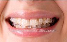 HUBIT Crystal Sapphire Orthodontic Brackets Braces