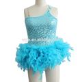 Elementi del bambino ingrosso, abiti piuma a buon mercato, immagini fata costume, abbigliamento per la performance di danza