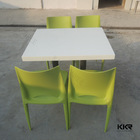 Acrylic japanese low dining table , japanese dining table size
