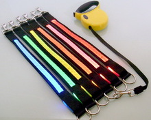 Design low price led illuminated dog collar