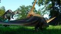 dinosaurio robótico animatronic dinosaurio de safari