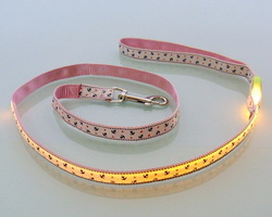 Quality creative led flashing pet collar led collar dog