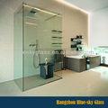 lt 8mm 10mm 12mm gruesa de tamaño personalizado claro templado recinto de la ducha hoja de vidrio al por mayor