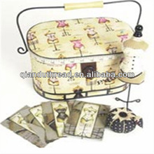 sewing sets/sewing box/ handmade sewing basket