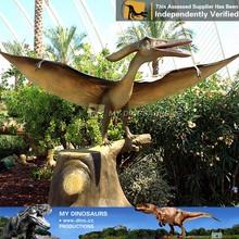 De tamaño natural eléctrica dinosaurio de la historieta encantadora dinosaurios de juguete caricatura