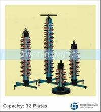 12 Plates, Vertical Type, TT-BU120, Kitchen Organizer Dish Rack