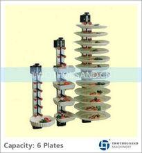 TT-BU128, 6 Plates, Vertical Type, Kitchen Cabinet Plate Holders
