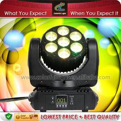 MINI 7 * 12 Watt RGBW Osram LED MINI Beam Wash Moving Head Light, small but wonderful in China