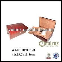 Shenzhen Plated Metal Wooden Cigar Box Holder
