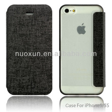 For top fashion iphone 5 5g protective leather case