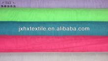 Poly Complex silk Chiffon/Plain woven tech Composite 100% polyester fabric
