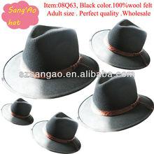 Manufacture black girls church hat