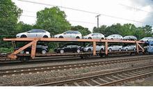 48 x Car Four Axled Wagon Type LAAES 142