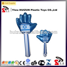 mini Inflatable hammer hand, PVC inflatable kids toys hammer
