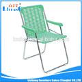 Exterior de plástico cadeira de praia dobrável/cadeira de jardim
