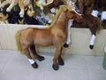 Cute plush cavalo marca/simulação macio brinquedo do cavalo( en71 aprovado)