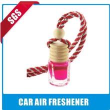 10ml Glass bottle orchid strap hanging perfume car air freshener