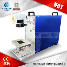 Portable Fiber Laser Etching / Marking Machine 10 Watt 20 Watt Price ( Representives wanted )