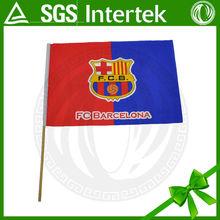 alibaba china printing polyester football club barcelona sports flag giant