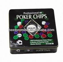 100pcs Poker Set / roulette poker game set
