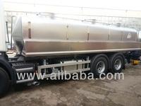 Milk transport tanker