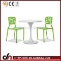 Sala de estar mesa de nuevo diseño redondo mesa de comedor y silla