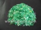 Recycled Green PET plastic scrap