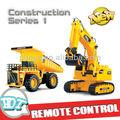 Rc escavadeira, brinquedo do rc escavadeira, rc construção caminhão de brinquedo