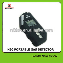 user-friendly operation small size portable personal safety CO and CH4 gas detective devices
