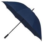 "Wholesale 55"" Auto Open Navy Golf Umbrellas"