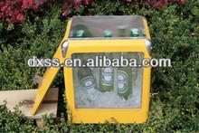 Food Fresh Drink Cool Resurable Metal Cooler Wine Holder