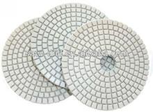 White Quality Marble Flexible Diamond Polishing Pad