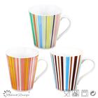 2014 hot selling V shape 11oz decal fine bone china mug sweet design