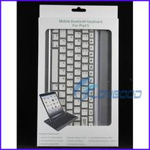 Metal Aluminum Wireless Bluetooth Keyboard Case cover for Apple Ipad Air iPad 5
