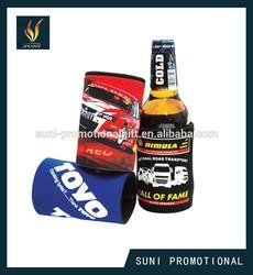 Beer can cooler holder for promotion