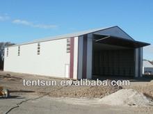 Aluminum structure tent garage with roll up door