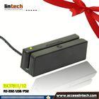 2014 Hot USB Interface magnetic cardr reader 3-track iso 7811 magnetic card reader (usb)