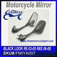 For YAMAHA R6 YZF 03 04 05 R6S 06 07 08 Rear Mirror For Motorcycle Black FMIYA006