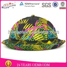 2014 spring summer sunhat 100% cotton custom wholesale cheap bucket hat