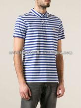 garment factory pique polo t shirt 2014 men fashion